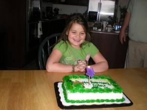 Addy's birthday