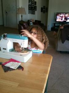 Mya sewing
